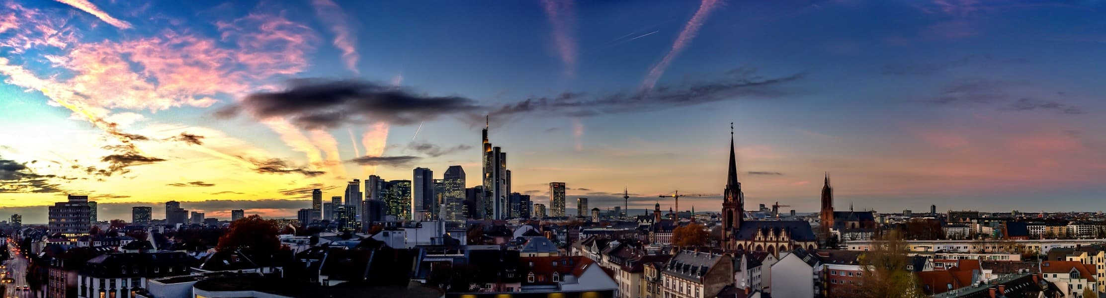 Eventrecht Veranstaltungsrecht Anwälte Kanzlei WeSaveYourCopyrights Rechtsanwaltsgesellschaft mbH Frankfurt am Main Skyline